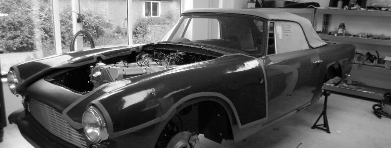 Aston Martin DB4 Convertible Restoration