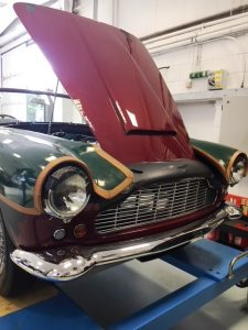 Aston Martin DB4 Convertible, full restoration by Chicane, Aston Martin Specialists, south of London