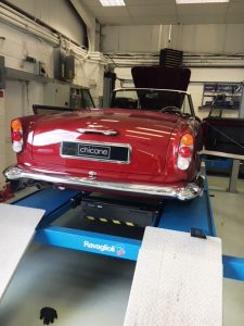 Aston Martin DB4 Convertible, full restoration by Chicane, Aston Martin Specialists, Hampshire