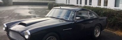 Aston Martin Series 1 DB4 Road Test