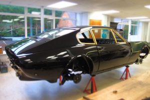 Aston Martin DBS V8, full restoration by Chicane, Aston Martin Specialists, Hampshire