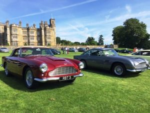 Aston Martin DB4 Convertible and DB5, full restoration by Chicane, Aston Martin Specialists, Hampshire